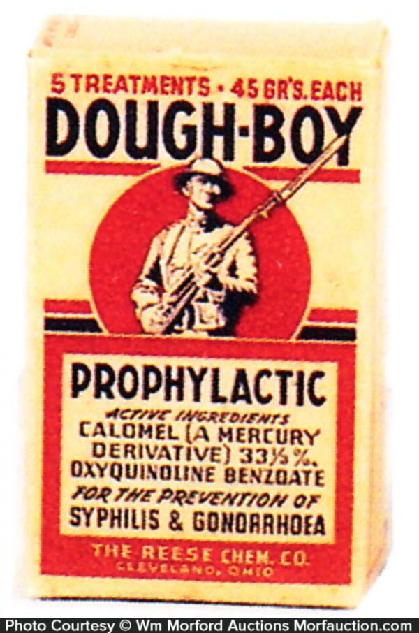 Dough-Boy Prophylactics Box