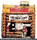 Log Cabin Tin
