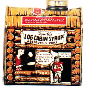 Log Cabin Tin