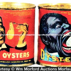 Negro Head Oyster Tin