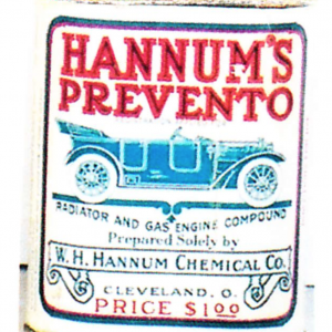 Hannum's Prevento Oil Tin