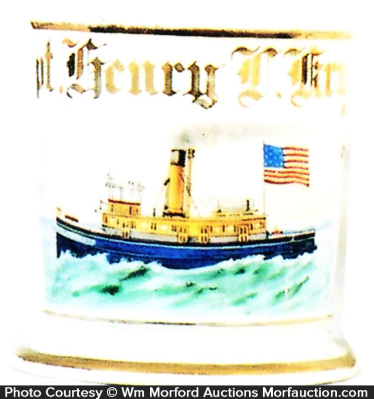 Tug Boat Shaving Mug