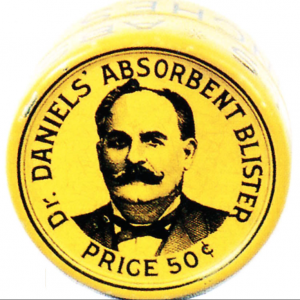 Dr. Daniels' Absorbent Blister Tin