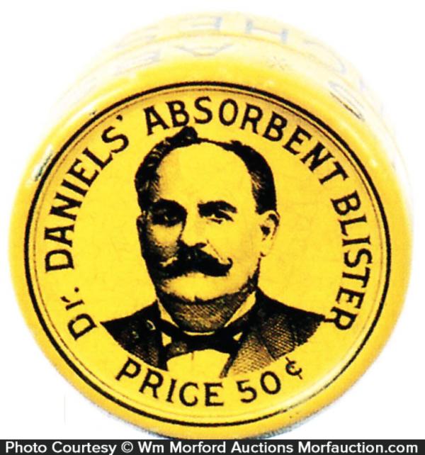 Dr. Daniels' Absorbent Blister Tin