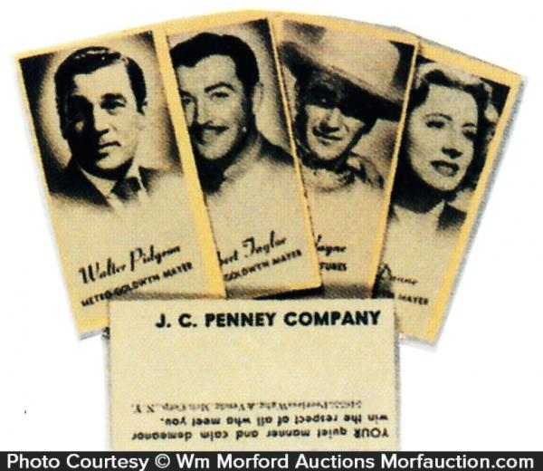 Movie Star Cards
