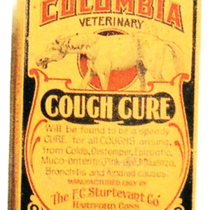 Columbia Cough Cure Box
