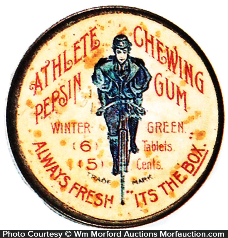 Athlete Chewing Gum Tin