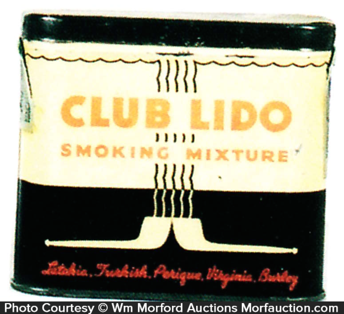 Club Lido Tobacco Tin