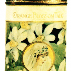 Orange Blossom Talc Tin