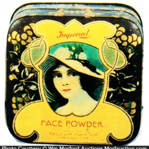 Imperial Face Powder Tin