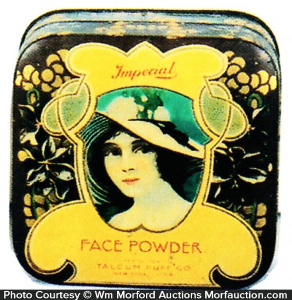 Imperial Face Powder Tin