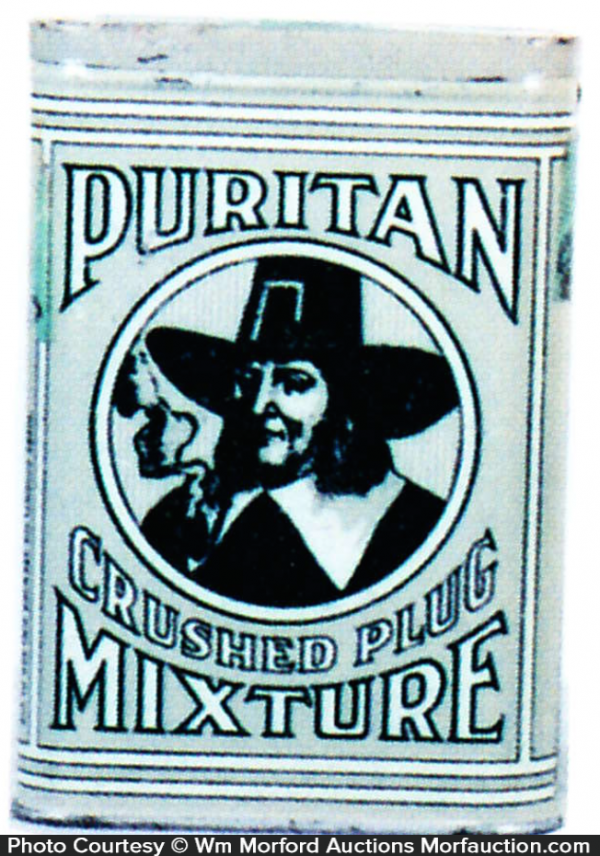 Puritan Tobacco Pocket Tin