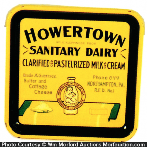 Howertown Sanitary Dairy Tray
