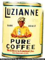 Luzianne Coffee Can
