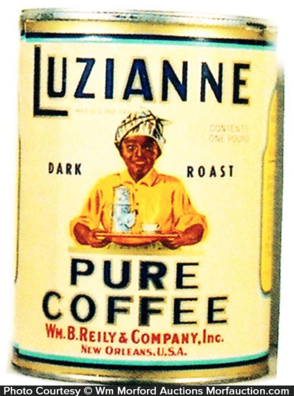 Luzianne Coffee Can