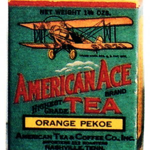 American Ace Tea Tin