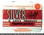 Silver Bell Condom Tin