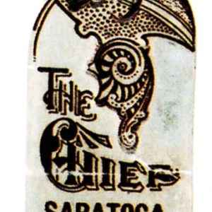 Chief Saratoga Water Bookmark