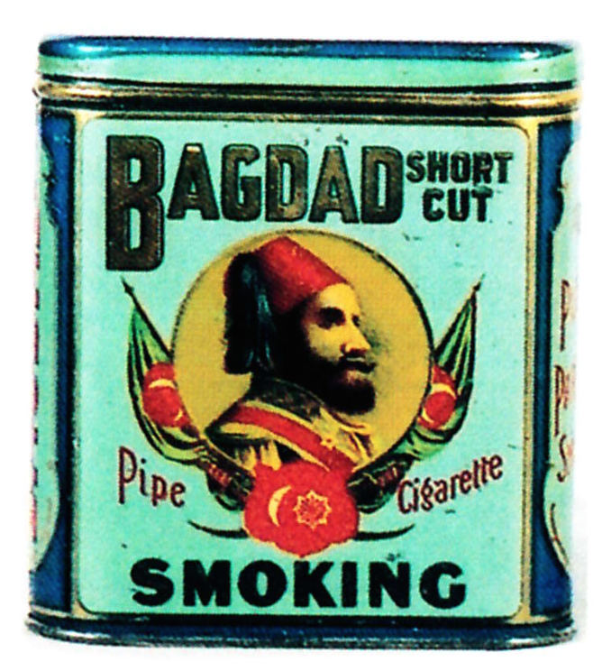 Bagdad Tobacco Tin