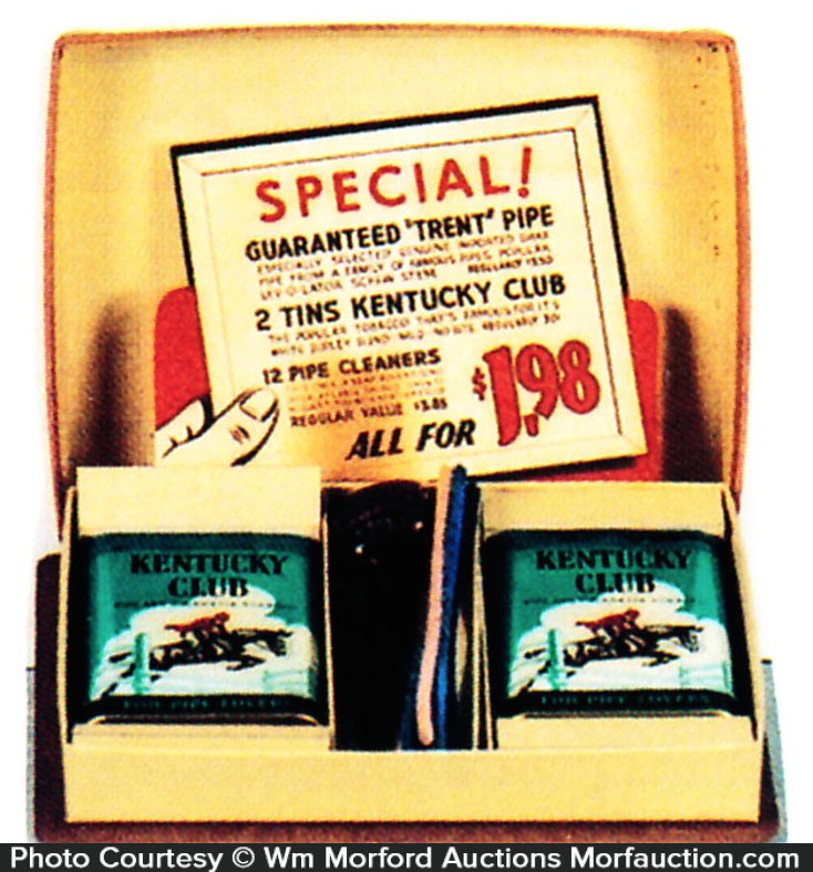 Kentucky Club Tobacco Gift Set