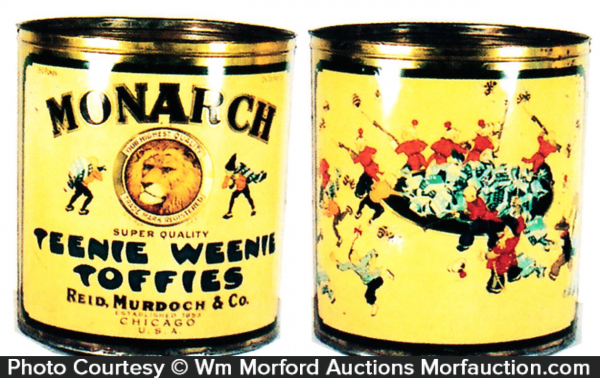 Monarch Toffies Store Tin