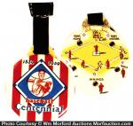 Baseball Centennial Watch Fob