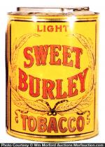 Sweet Burley Tobacco Bin
