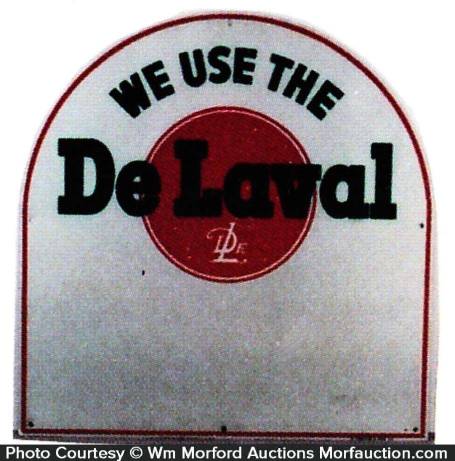 De Laval Farm Sign