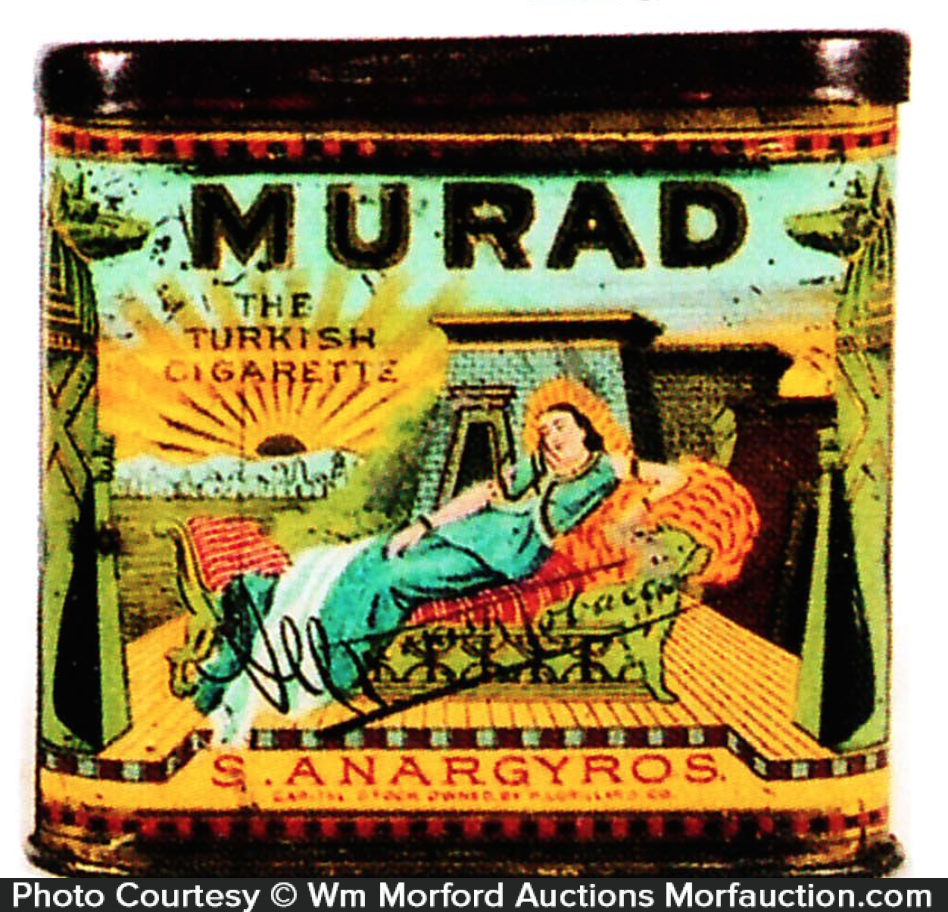 Murad Tobacco Tin