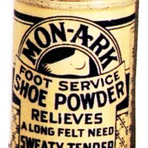 Mon-A-Rk Foot Powder Tin