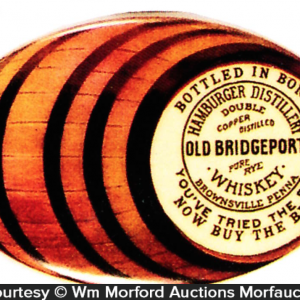 Old Bridgeport Whiskey Mirror