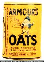 Armour Oats Sample Box