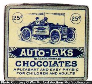 Auto-Laks Chocolate Tin