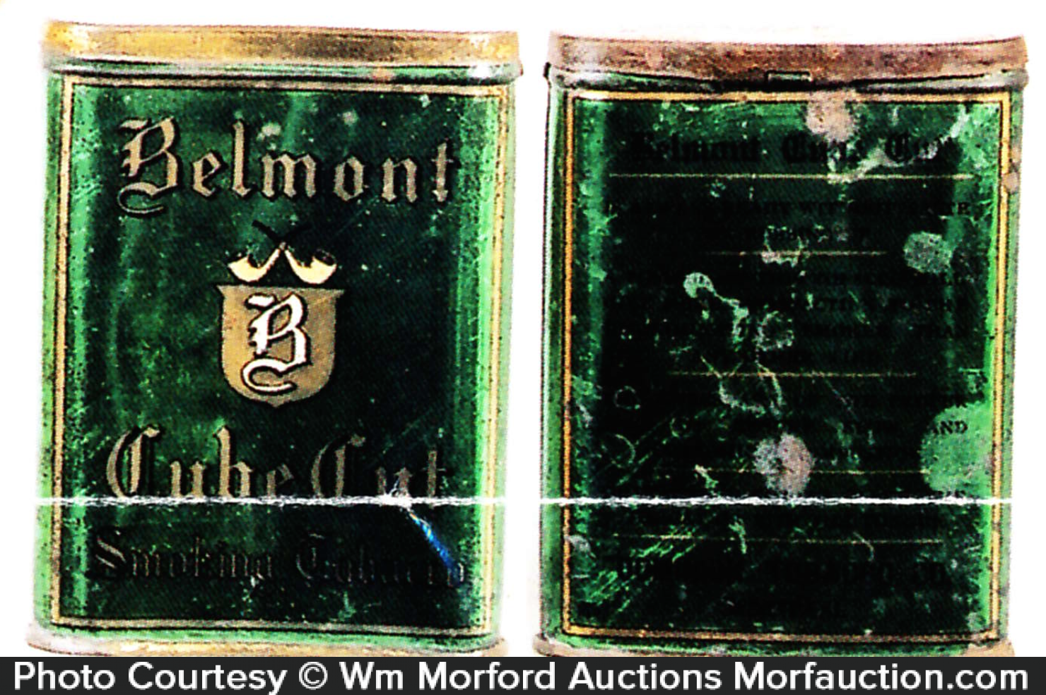 Belmont Tobacco Tin