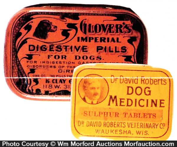 Glover's Digestive Pills Tin