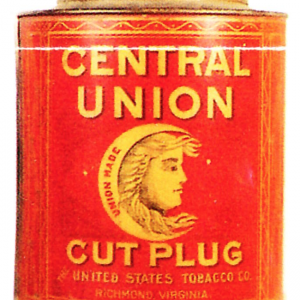 Central Union Tobacco Tin