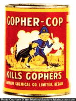 Gopher-Cop Tin