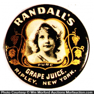 Randall's Grape Juice Mirror