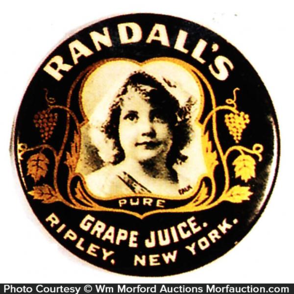 Randall's Grape Juice Mirror