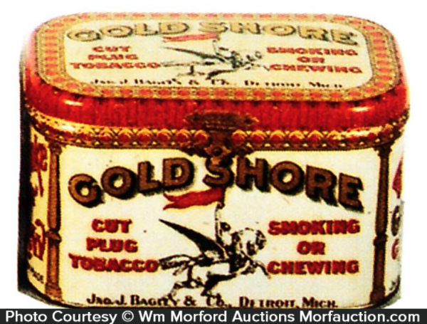 Gold Shore Tobacco Tin