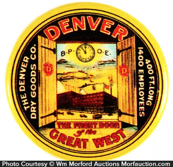 Denver Dry Goods Mirror