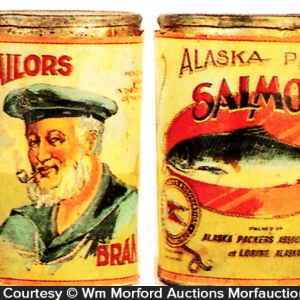 Sailors Salmon Tin