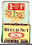 Beech Nut Chewing Gum Tin