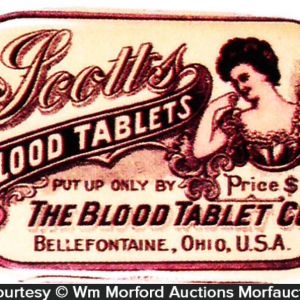 Scott's Blood Tablets Tin