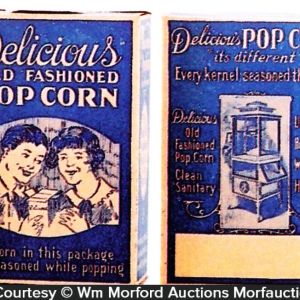 Delicious Pop Corn Boxes