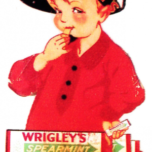 Wrigley Spearmint Gum Sign