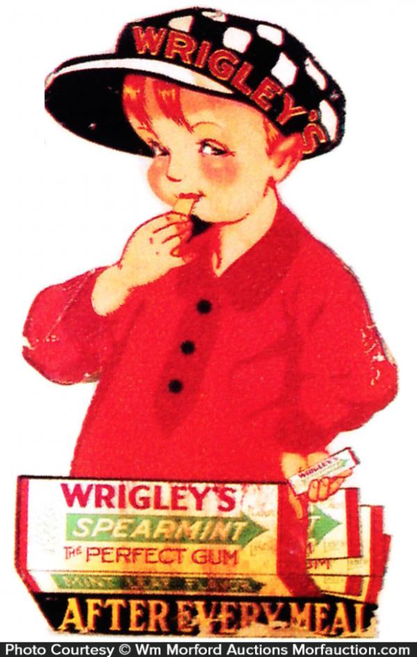 Wrigley Spearmint Gum Sign