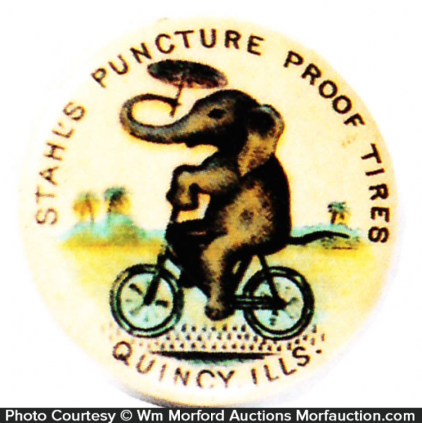 Stahl's Puncture Proof Tires Pin