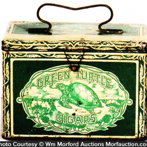 Green Turtle Cigar Pail