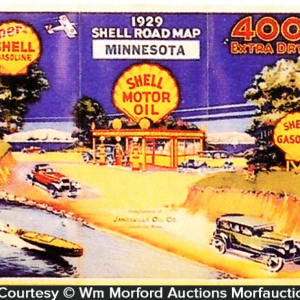 Shell Motor Oil Map